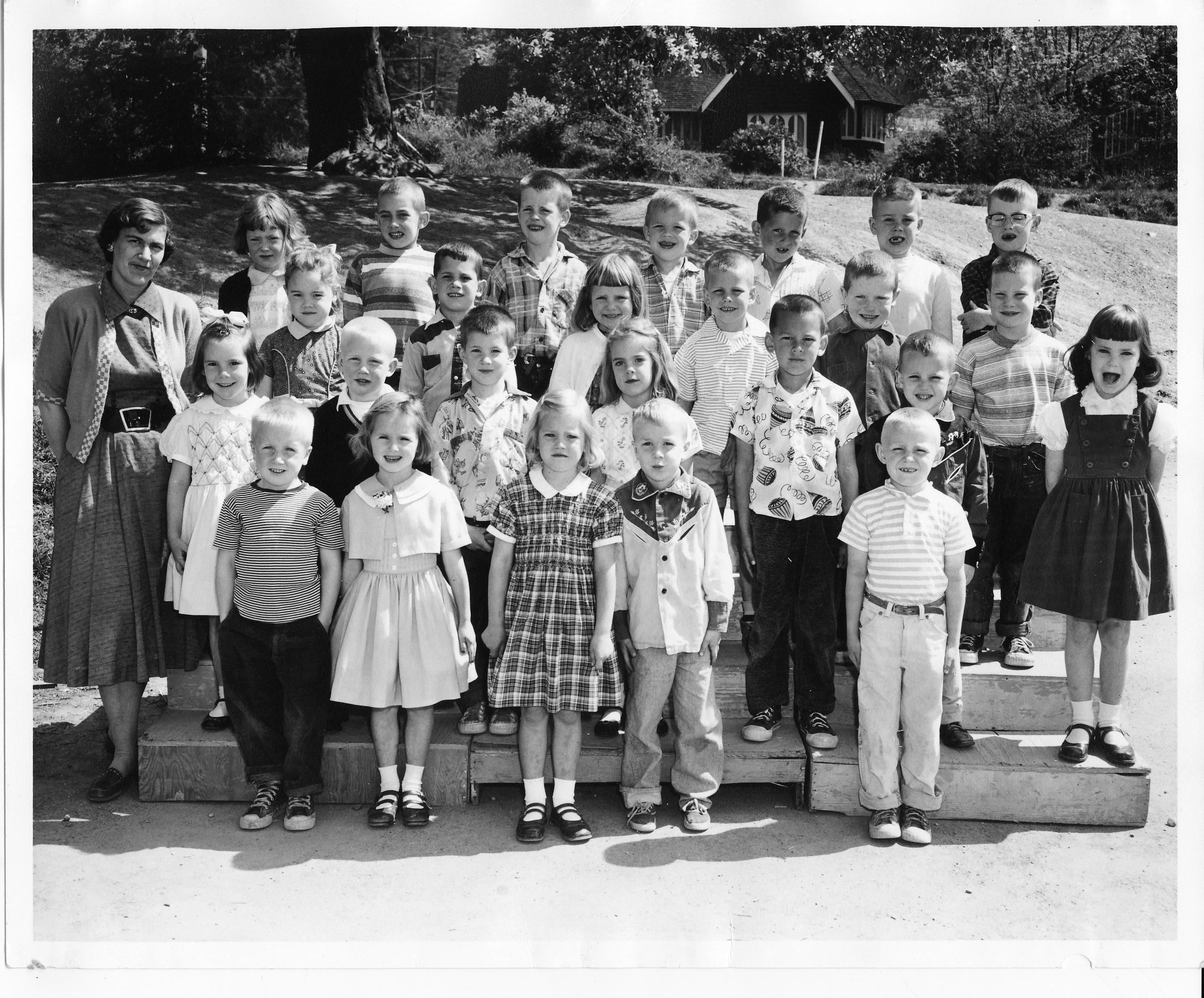 Elementary School Photos Mercer Island Wa 1957 64
