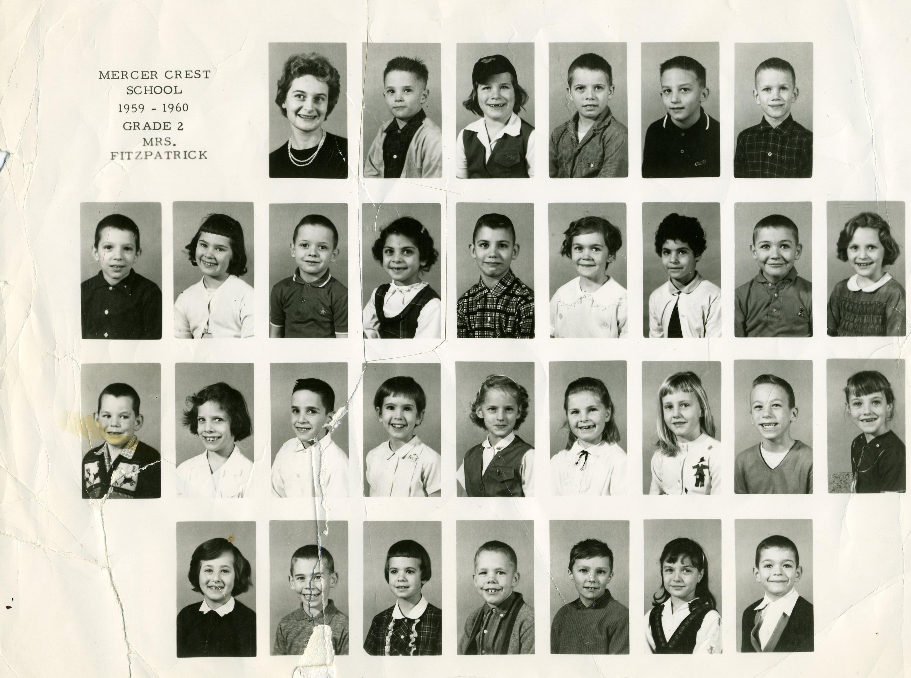 elementary school photos  mercer island  wa  1957